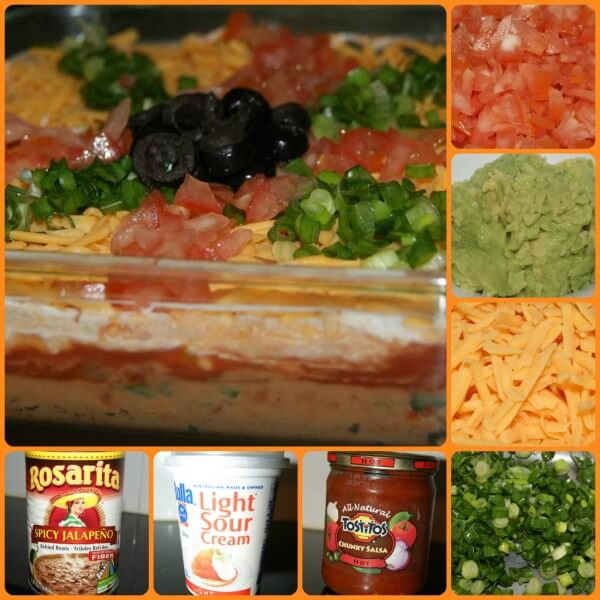 Mexican Style Seven Layered Dip Recipe