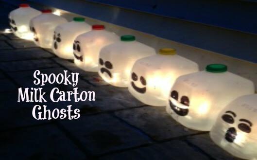 Spooky Milk Carton Ghosts