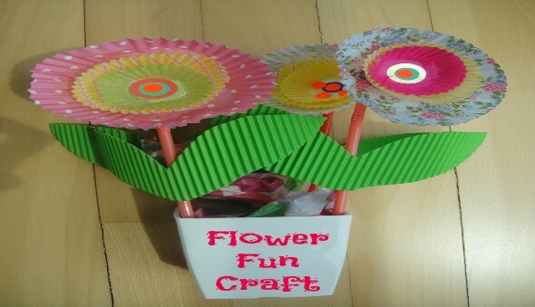 Flower Fun Craft