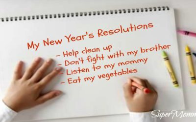 How to Write New Year's Resolutions for Family & Kids