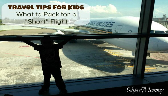 Travel Tips for Kids: What to Pack In Your Carry-On Bag for a Short Flight