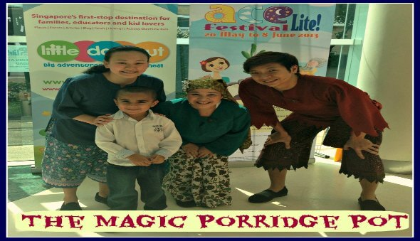 A Review of The Magic Porridge Pot & A Special Message from the iTheatre