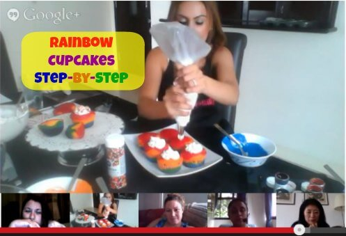 How To Make Rainbow Cupcakes: A Step-by-Step Video