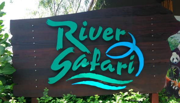 "The ""River Safari"" at the Singapore Zoo"