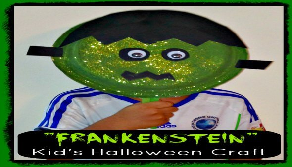 Frankenstein – Easy Kid's Halloween Craft