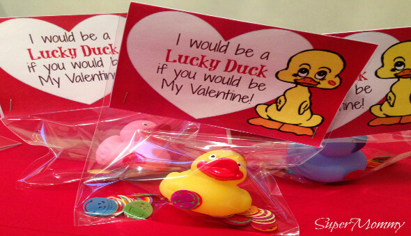Lucky Duck Valentine's Day Cards / Free Printable