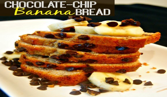 Easy Chocolate-Chip Banana Bread Recipe