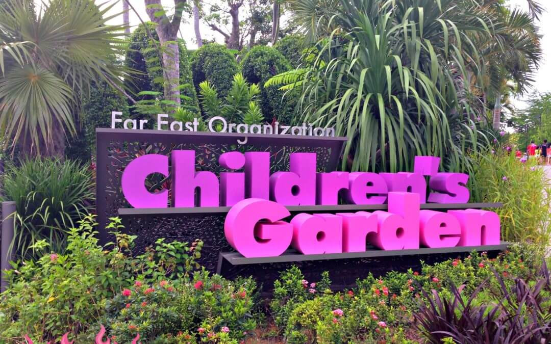 Tips for Visiting the Children's Garden at Gardens by the Bay