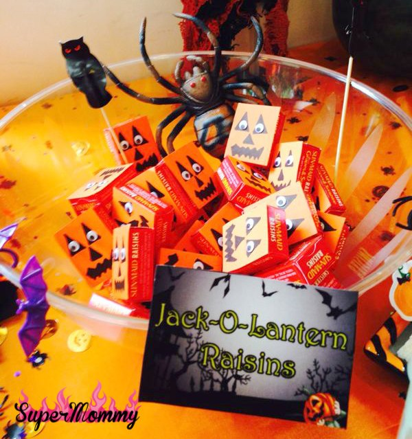 Kids Healthy Halloween Treat