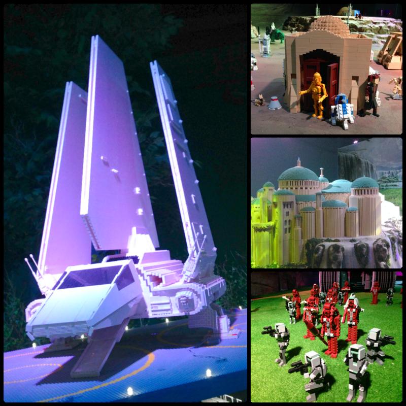 Legoland Malaysia Star Wars Display