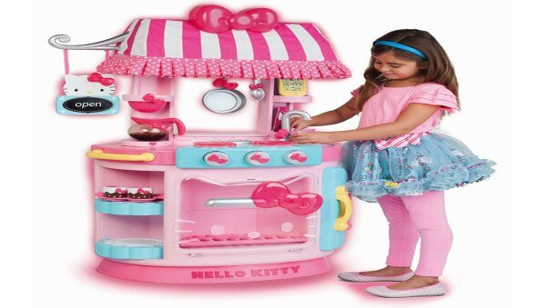 The Hello Kitty Kitchen Cafe  – A Great Gift for Lil' Girls