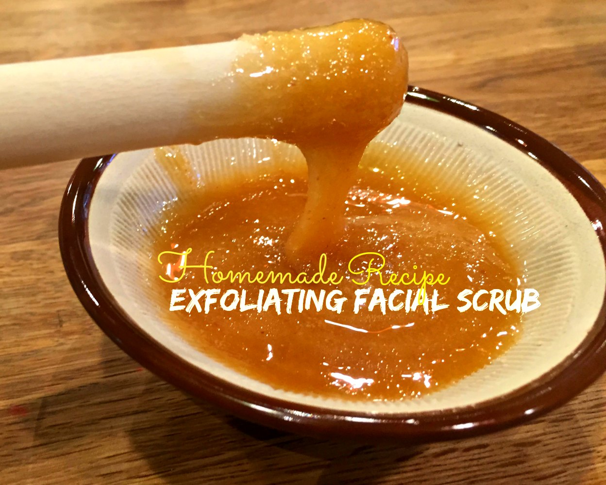 Natural Exfoliating Facial Scrub Recipe