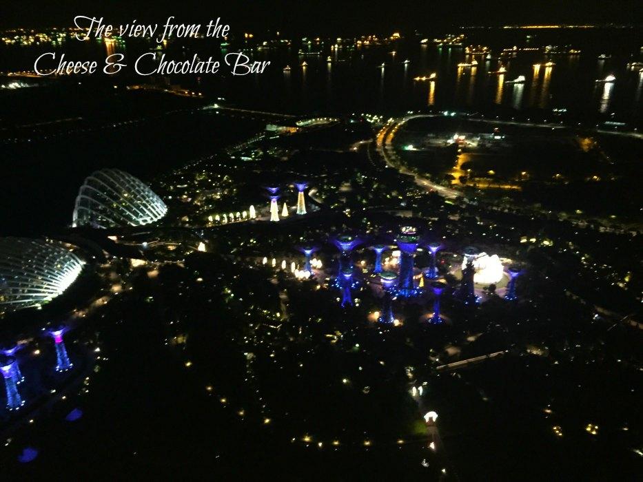 Cheese & Chocolate Bar - Marina Bay Sands - Singapore
