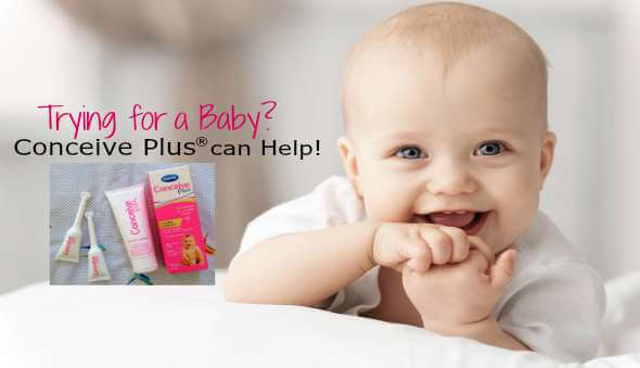 Trying for a baby? Conceive Plus® Can Help!