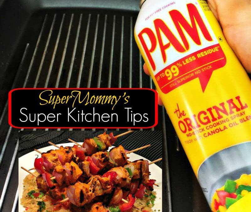 Super 'Kitchen Tips' using PAM Cooking Spray