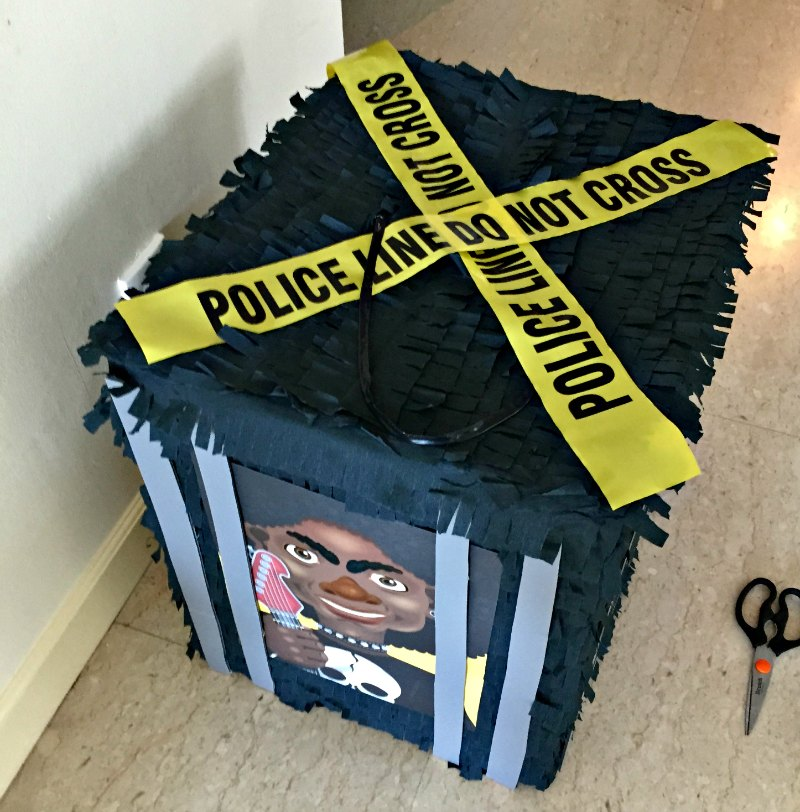 Cops & Robbers Birthday Themed Jail Pinata