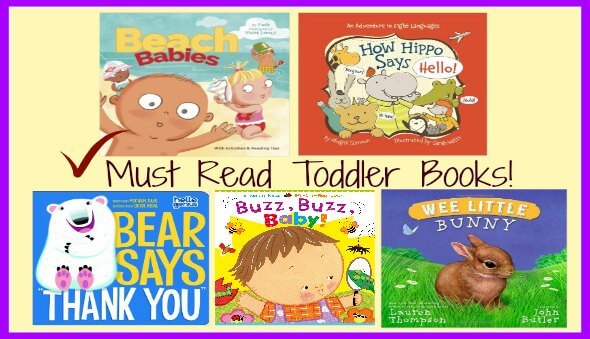 """Top 20 """"Must Read"""" Toddler Board Books (Part 1)"""