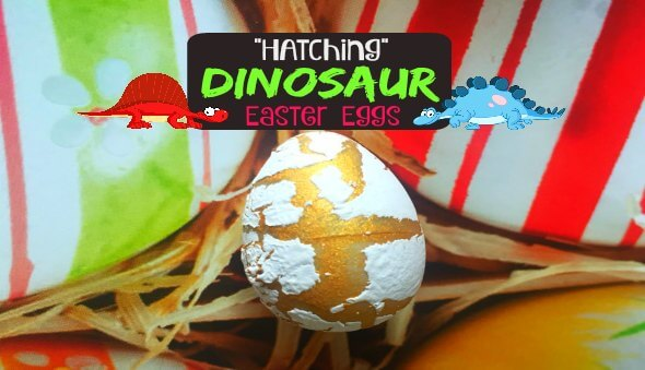 """Dinosaur """"Hatching"""" Eggs – Great for Easter & Party Goodie Bags!!"""