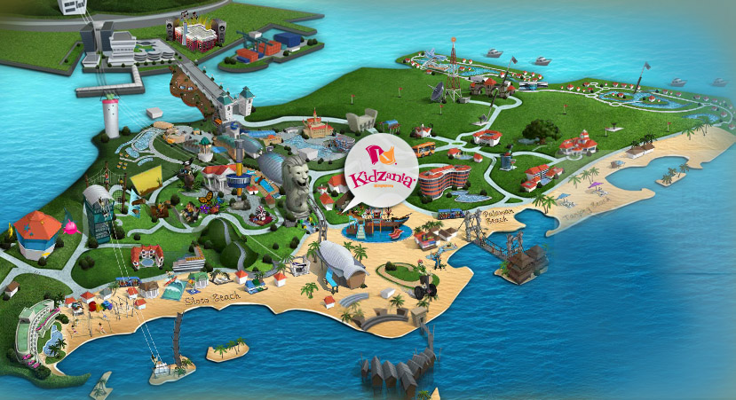 KidZania Sentosa Singapore Hours, Admission, Map, Parking, Palawan Beach