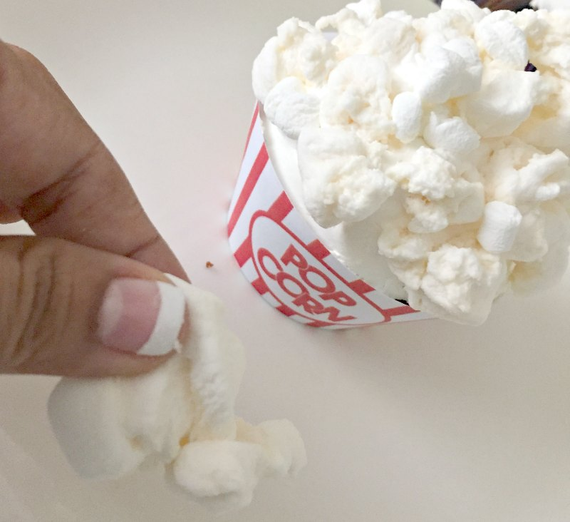 Popcorn Movie Night Cupcakes 3