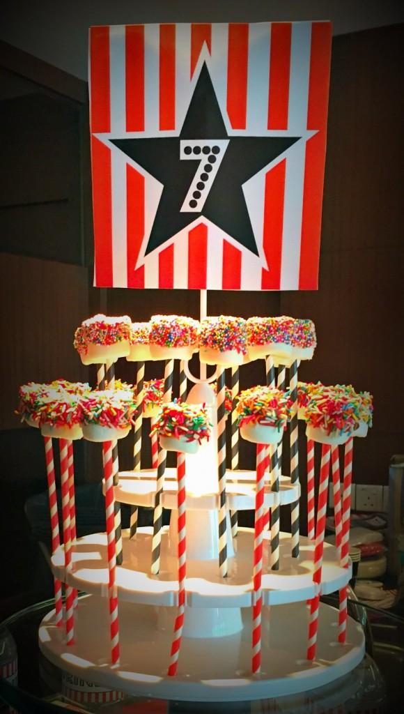 How to Make Marshmallow Cake Pops Kids Birthday Party Dessert