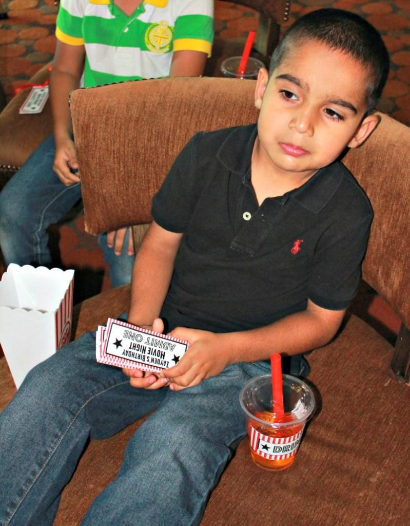 Movie Night Theme Kids Birthday Party Ideas