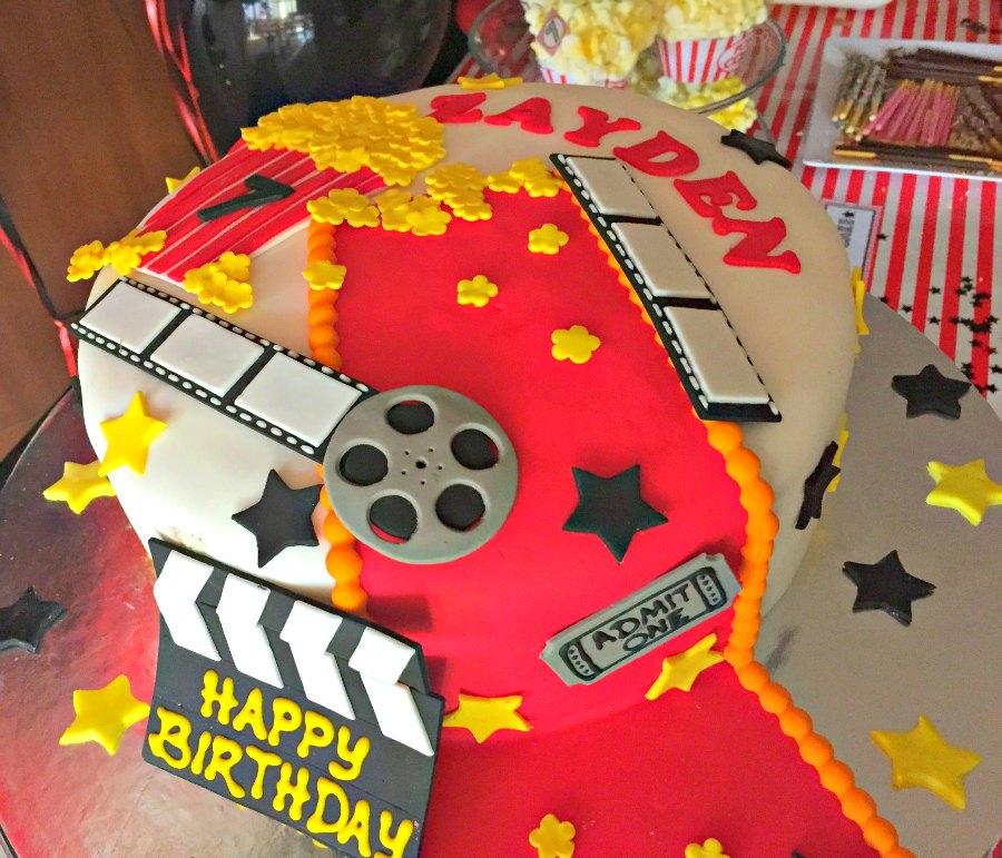 Marvelous Movie Night Themed Kids Birthday Party Ideas Funny Birthday Cards Online Eattedamsfinfo
