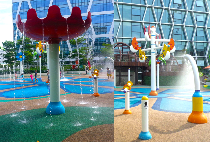 ingapore Waterpark Water Play Swimming Kids Toddler Outdoor Playground