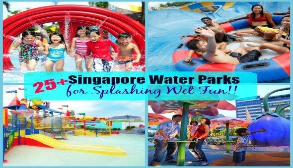 25+ Singapore Water Play Areas for Some Splashing Fun!