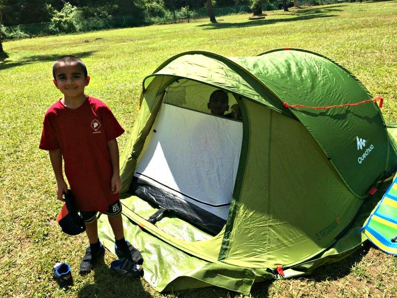 Cub Scouts of America Singapore Camping Trip