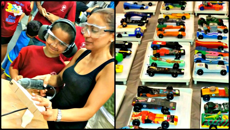 Cub Scouts of America Singapore Pinewood Derby