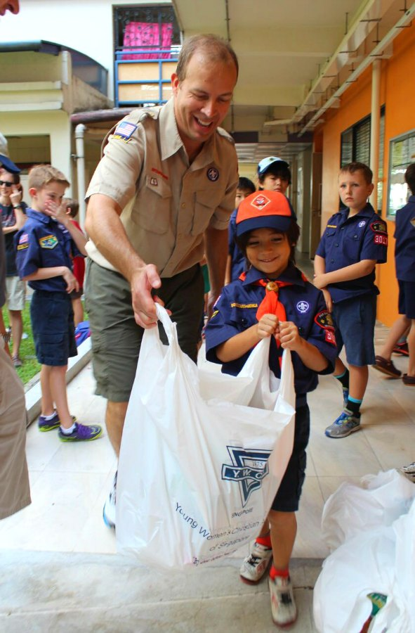 Cub Scouts of America Singapore Volunteer Service