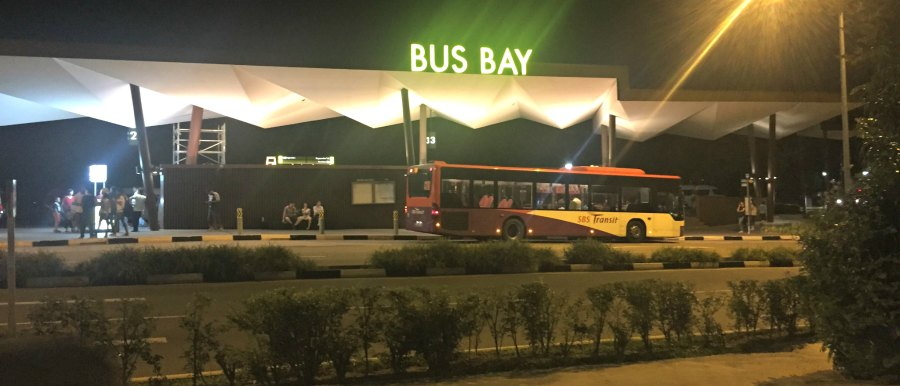 Singapore Night Safari Bus