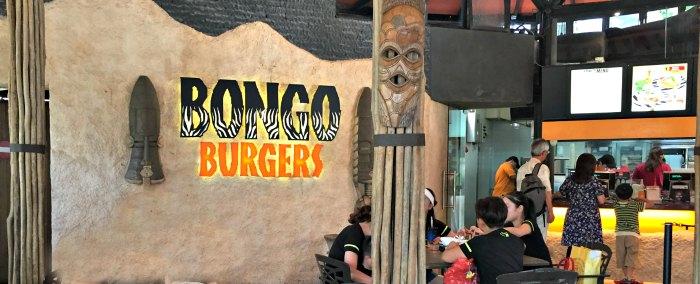 Singapore Night Safari Food Restaurants Bongo Burgers