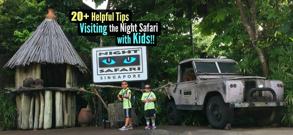 Singapore Night Safari with Kids