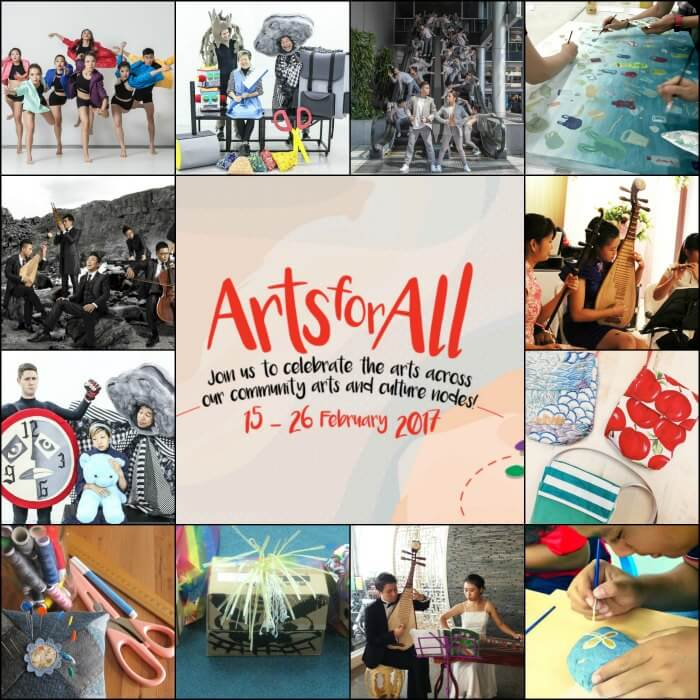 NAC Arts for All Kids Adults Art Dance Theatre Classes Activities Free Singapore