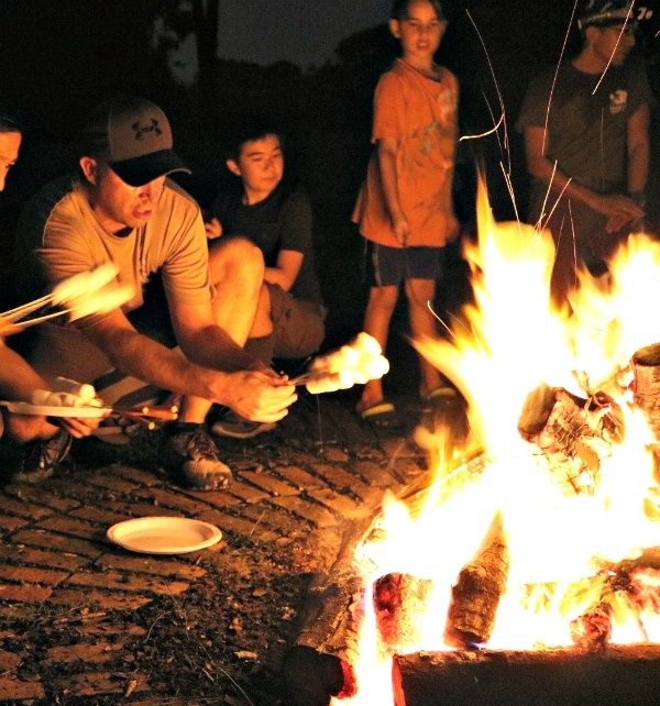 Smores Recipe Desserts Camping Kids Singapore cub scouts