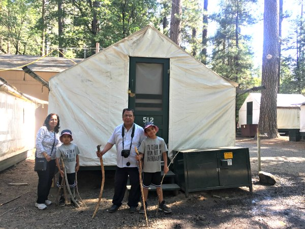 Yosemite National Park Valley California Kids What to Pack Half Dome Village Reservations Showers Food Restaurants