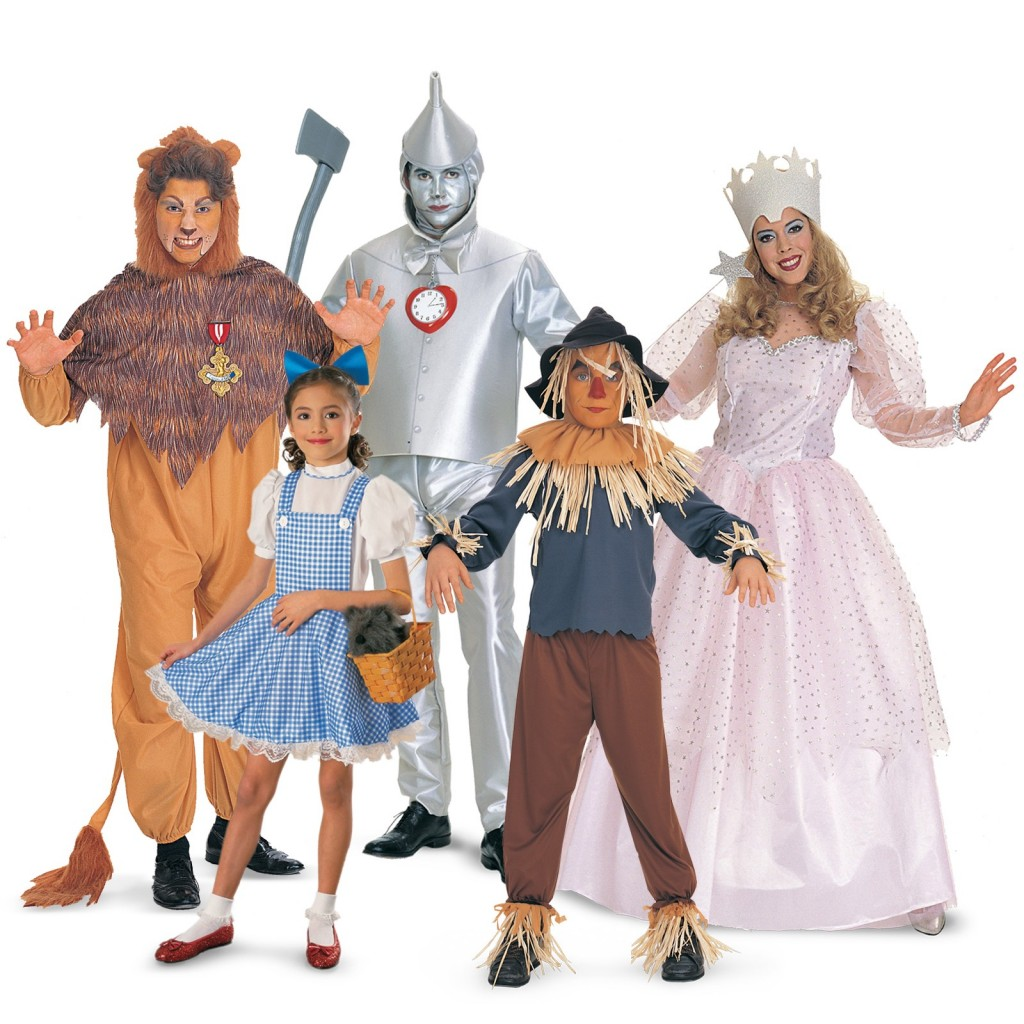 Family Group Halloween Costume Ideas
