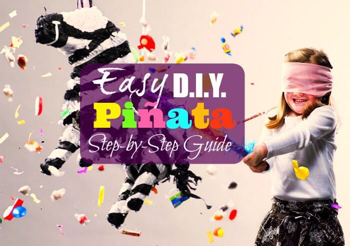 Easy DIY Pinata Step by Step How to Make Guide Ideas