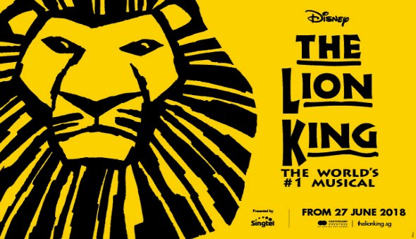 """The Lion King"" Musical is Coming to Singapore (June 2018)!!"