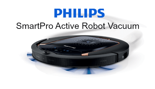 A Mom's Review of the Philips SmartPro Active Robot Vacuum Cleaner + A Super Giveaway (value SG$799)