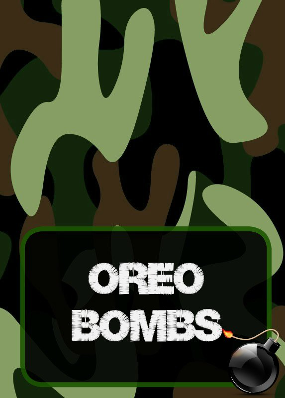 Free Printables Party Food Labels Military Camouflage Army Laser Tag Printables
