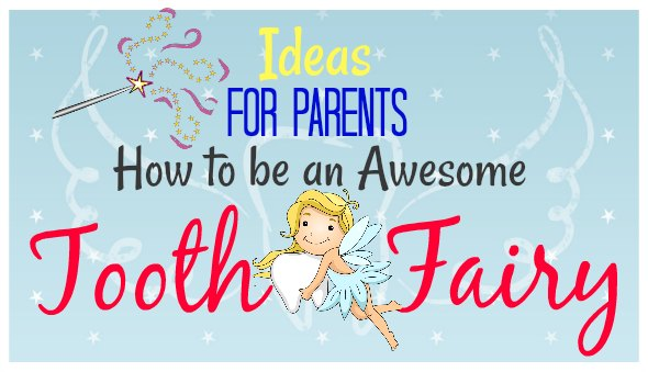 "Easy ""Tooth Fairy"" Ideas & Tips for Parents / Free Printables"