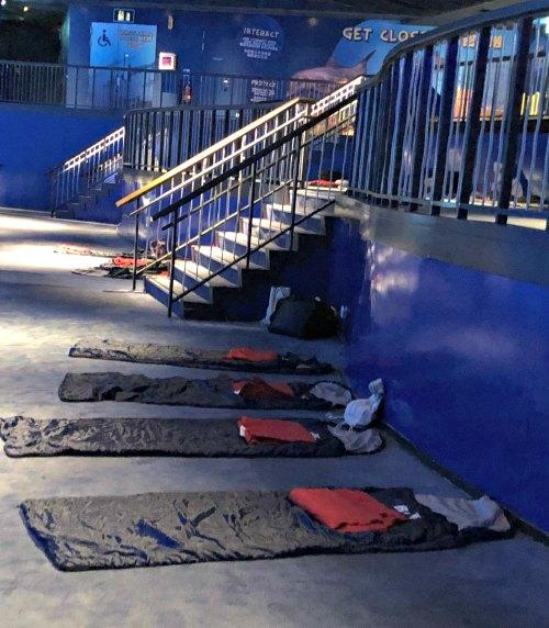 Review Ocean Dreams Sleepover Resorts World SEA Aquarium Singapore Kids Birthday Venue Sentosa