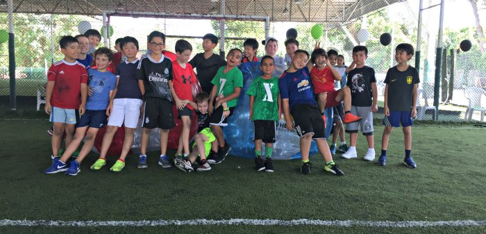 Bubble Soccer Bump Singapore Kids Birthday Party Package Venue 10
