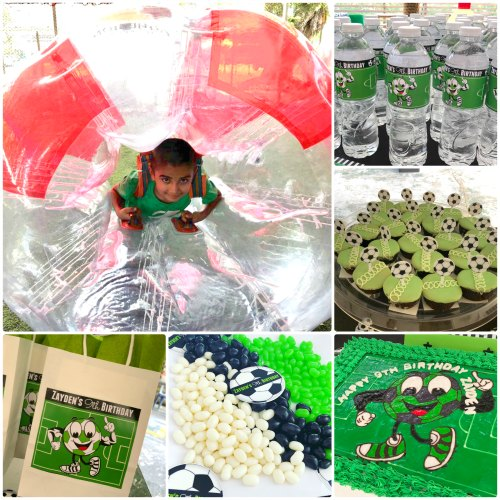 Bubble Soccer Bubble Bump Singapore Kids Birthday Party Package Unique Birthday Venue