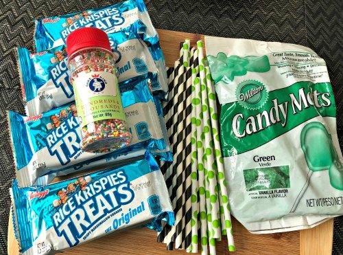 Rice Krispies Treat Pops No Bake Dessert Kids Party Ideas 1