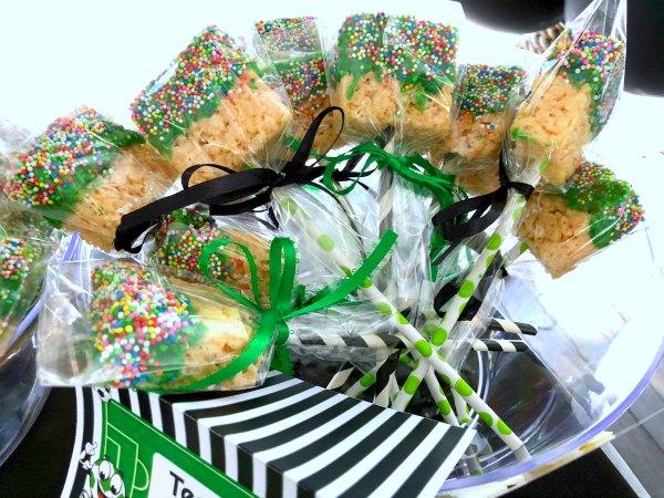 Rice Krispies Treat Pops No Bake Dessert Recipe Easy Kids Party Idea 6