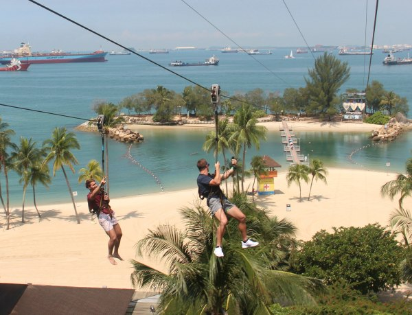 Sentosa MegaZip Mega Adventure Promotions Discounts Singapore Prices Things to do with Kids Singapore